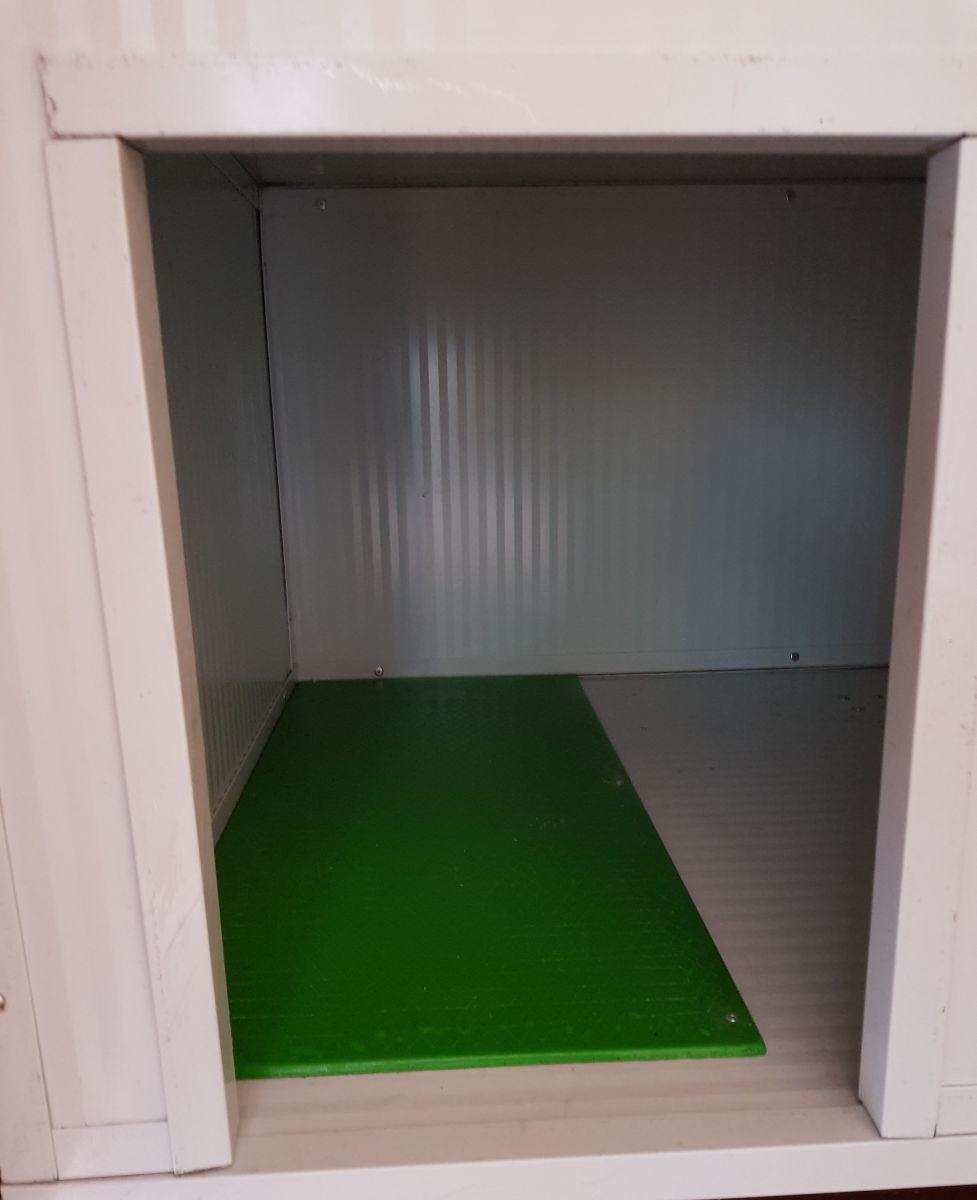 Placa de calor interior caseta
