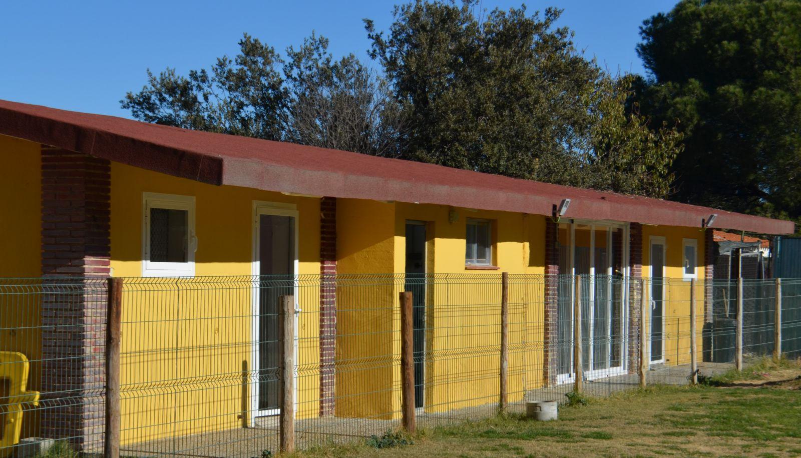 Habitaciones calefacción vista exterior