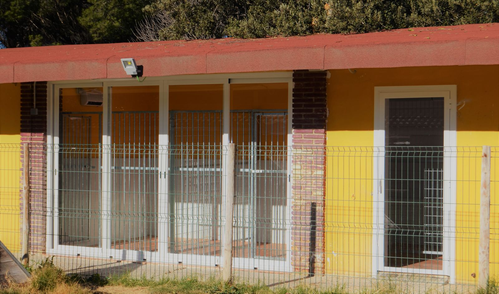 Habitaciones calefaccion vista exterior